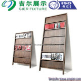 Wooedn magazine Rack for Display (GDS-WR014)