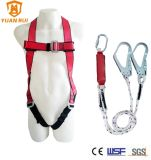 Full Body Safety Harness with Energy Absorber Lanyard with Ce Certificate