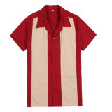 OEM/ODM/Drop Shipping Latest Men′s Dress Shirt Custom Cotton Bowling Shirt
