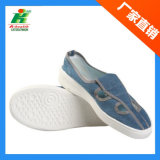 Antistatic Jeans Butterfly Work Shoe in Cleanroom