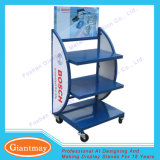 3 Tiers Metal Heavy Duty Car Battery display Stand