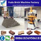 Hydraulic Pressure Qt1-10 Logo Solid Brick Machine/Soil Mud Brick Machine