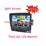 Quad 7CH Car LCD Dashboard Monitor & Truck Heavy Duty LCD for Car Monitor