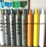 Industrial High Pressure Seamless Oxygen, Nitrogen, Acetylene Gas Bottles