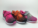 Children Casual Sports Running Shoes with Flyknit Upper