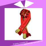 National Pattern Printing Scarf with Tassel for Activity P016A-007