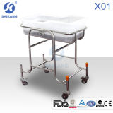X01-5 Stainless Steel Baby Crib Cot