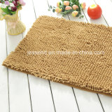 Plain Color Microfiber Bathroom Kitchen Mat Anti - Slip Chenille Carpet
