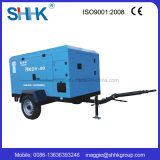Diesel Engine Driven Portable Air Compressor in China 7.5m3