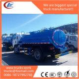 7100L Capacity Fuel Tank Truck for Diesel/Gasoline Loading