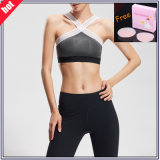Custom Dry Fit Polyester Spandex Custom Sexy Sport Gym Bra