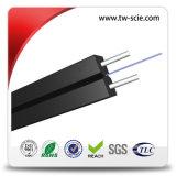 Flat Fiber Optic Cable GJXFH Type with LSZH Sheath Drop Cable 1km / 2km