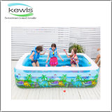 Square PVC Inflatable Swimming Pool for Gift