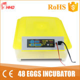 Hot Sale 98%High Hatching Rate Small Quail Egg Incubator (YZ8-48)