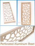 Interior and Exterior Aluminum Wall Facade Panels for Decorative