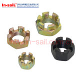 Metric Coarse and Fine Pitch Thread Hexagon Castle Nuts