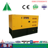 Soundproof Big Fuel Tank Diesel Generator Set