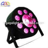 Hot 9PCS*9W 3in1 RGB+1PCS COB LED PAR COB LED PAR Light