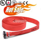 8-20 Bar Ageing Resistance of PVC Fabric Canvas Fire Fighting Hose