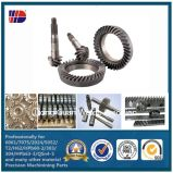 C45 Straight Helical Rack and Pinion with Mounting Holes Gear Rack