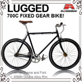 Customized Classic Hi-Ten Steel 700c Fixed Gear Bicycle (ADS-7105)