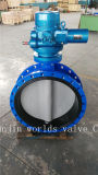 Electrical Actuated Double Flanged Butterfly Valve with Nylon Painting Disc (D941X-10/16)