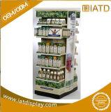 Manufacturer OEM Customized Strong Metal Milk Floor Display Stand