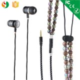 Shenzhen OEM Stereo Beads Pearl Necklace Earphones