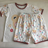 Hot Selling 2pieces Set Cute Printed Newborn Baby Clothing