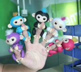 Amazon Best Seller 4 Colors Fingertip Squirrel Baby Glitter Monkey with Interactive Kids