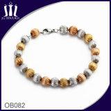Fashion Gold Ball Beaded Chain Bracelet