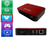 Ipremium TV Online+ 1080P Dual Core Android IPTV Set Top Box with WiFi