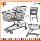 Supermarket Australia Style Zinc Shopping Cart (Zht45)