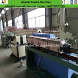 PVC PE PP Single Wall Corrugated Pipe Production Line