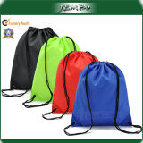 Personalized Promotion 210d Nylon Gym Drawstring Backpacks Drawstring Bag