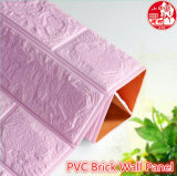 Decorative PVC 3D Soundproof Self Adhesive Brick for Home Theater