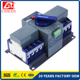 63AMP CB Series Q3 Type 3p 4p High Breaking Capacity 6-10ka Intelligent Transfer Dual Driver Change-Over Switch