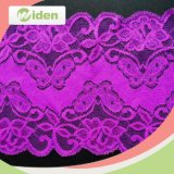 15cm High Quality African Purple Bridal Lace Fabric