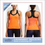 Women Sportswear Custom Gymwear Polyester Dri Fit Tank Top