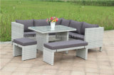 Outdoor Wicker Garden Rattan Corner Sofa Furniture