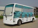 China 14 Seater Electric Tourist Passenger Bus Sightseeing Car