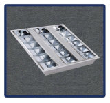 Office Panel Light, 1200*600 T8 Recessed Mounted Grille Lamp 4X40W