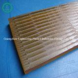 Engineering Plastic Amber Color Ultem Pei Sheet