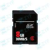 OEM High Quality 8GB Class 6 SDHC Memory Card (ZYF6100)