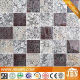 48*48mm Mix Color Silver Foil Glass Mosaic in Foshan (G848007)