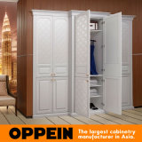 2015 Oppein Swing Leather Wood Bedroom Wardrobe (YG41459)