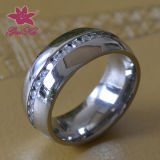 Fashion CNC Stainless Steel Ring (Gus-STFR-105)