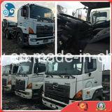 Shanghai-Located 350~450HP Original 20~40ton Japan Hino700 Used Trailer Tractor Truck