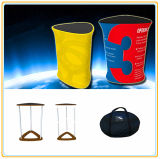 Promotional Portable Exhibition Counter Display Sign Banner Stand