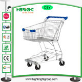 Grocery Metal Supermarket Shopping Trolley Cart